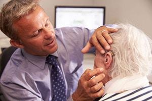 hearing aid consultation