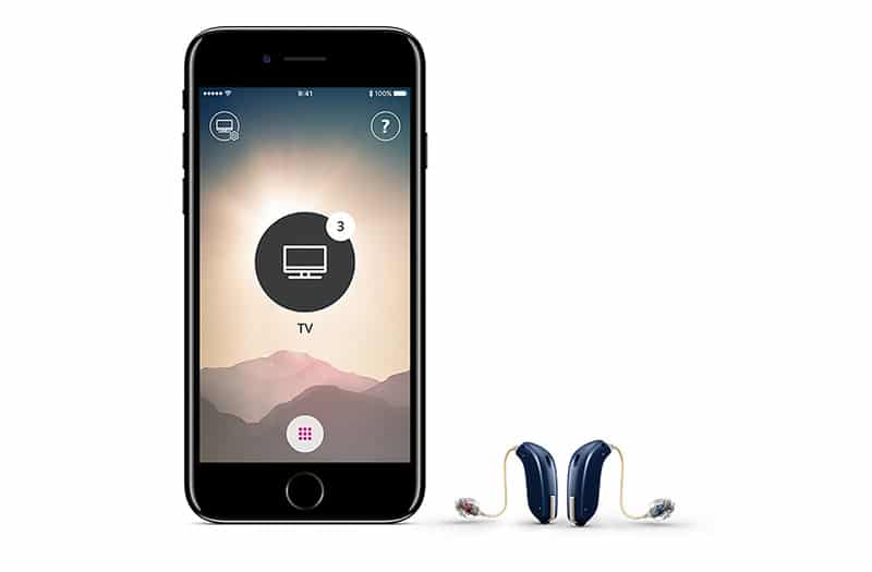 Iphone and over the ear hearing aids